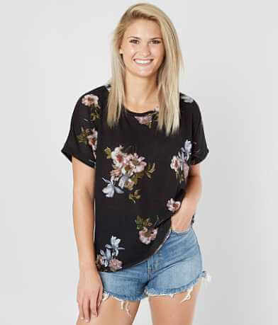 Daytrip Floral Thermal Dolman Top