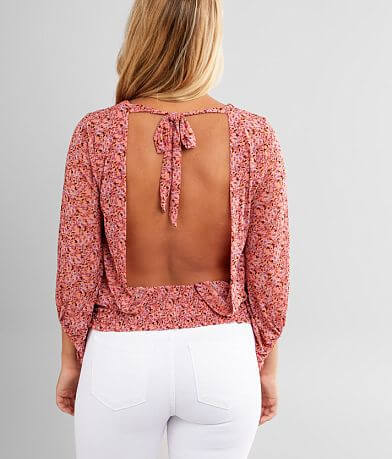 Willow & Root Ditsy Floral Top
