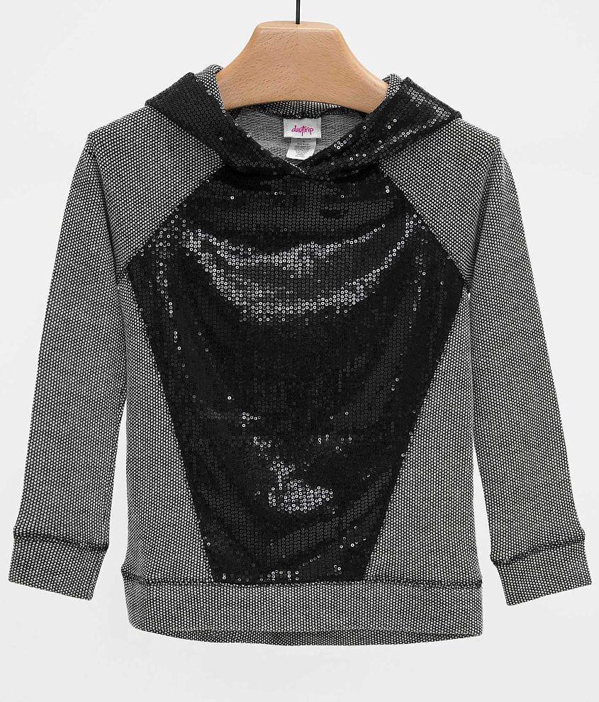 Girls - Daytrip Sequin Sweatshirt front view