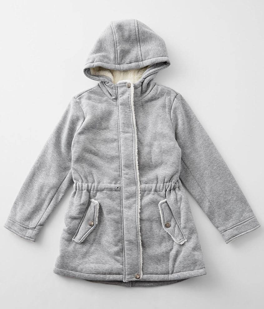 Girls - Urban Republic Hooded Trench Coat front view
