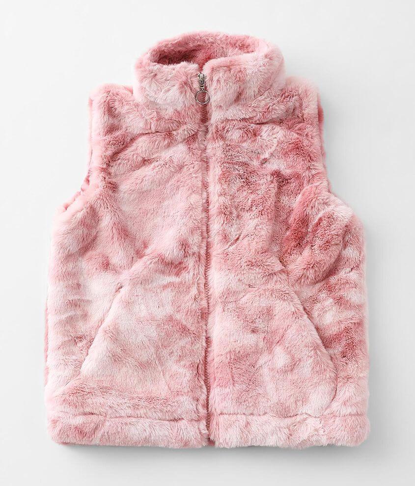 Girls - Urban Republic Faux Fur Vest front view
