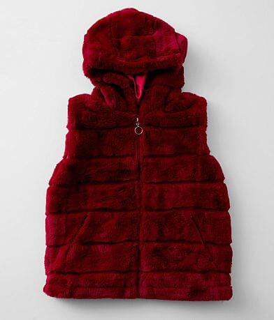 Girls - Urban Republic Faux Fur Hooded Vest