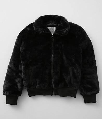 Girls - Urban Republic Faux Fur Bomber Jacket