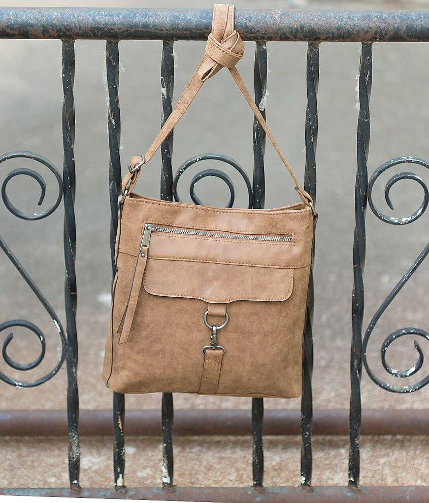 Dolce Girl Distressed Purse front view