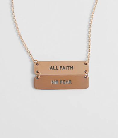 JAECI All Faith No Fear Necklace