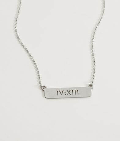 JAECI I Can Do All Things Through Christ Necklace
