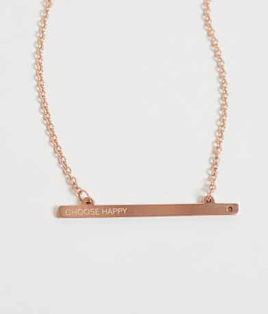 JAECI Choose Happy Necklace