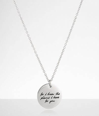 JAECI I Know The Plans I Have For You Necklace