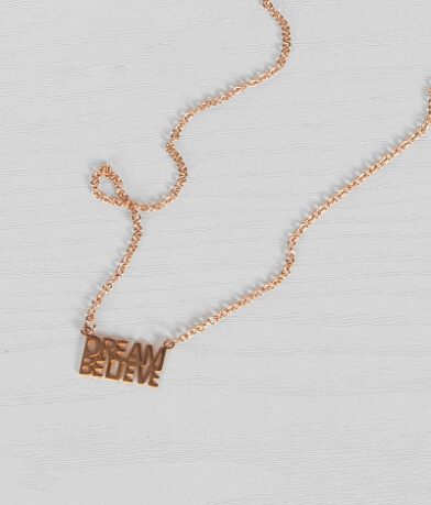 JAECI Dream Believe Necklace