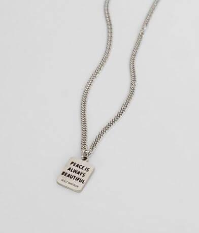 JAECI Peace Necklace