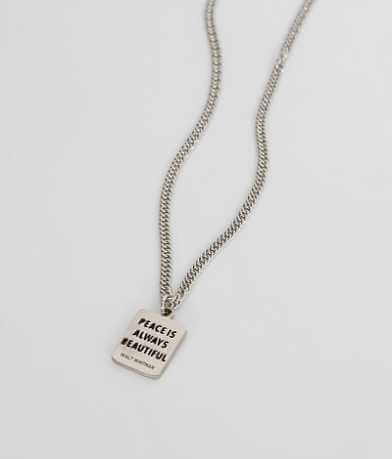 JAECI Peace Necklace