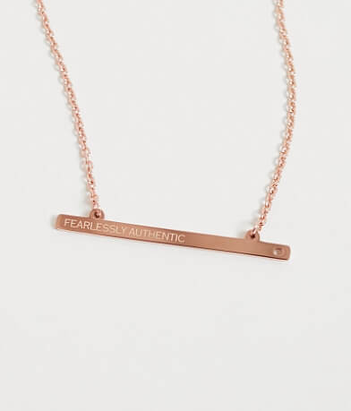 JAECI Fearlessly Authentic Necklace