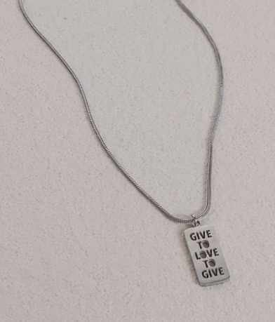 JAECI Give To Love To Give Necklace