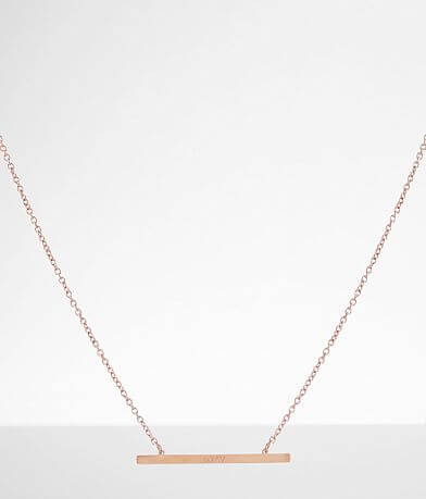 JAECI God Is Greater Bar Necklace