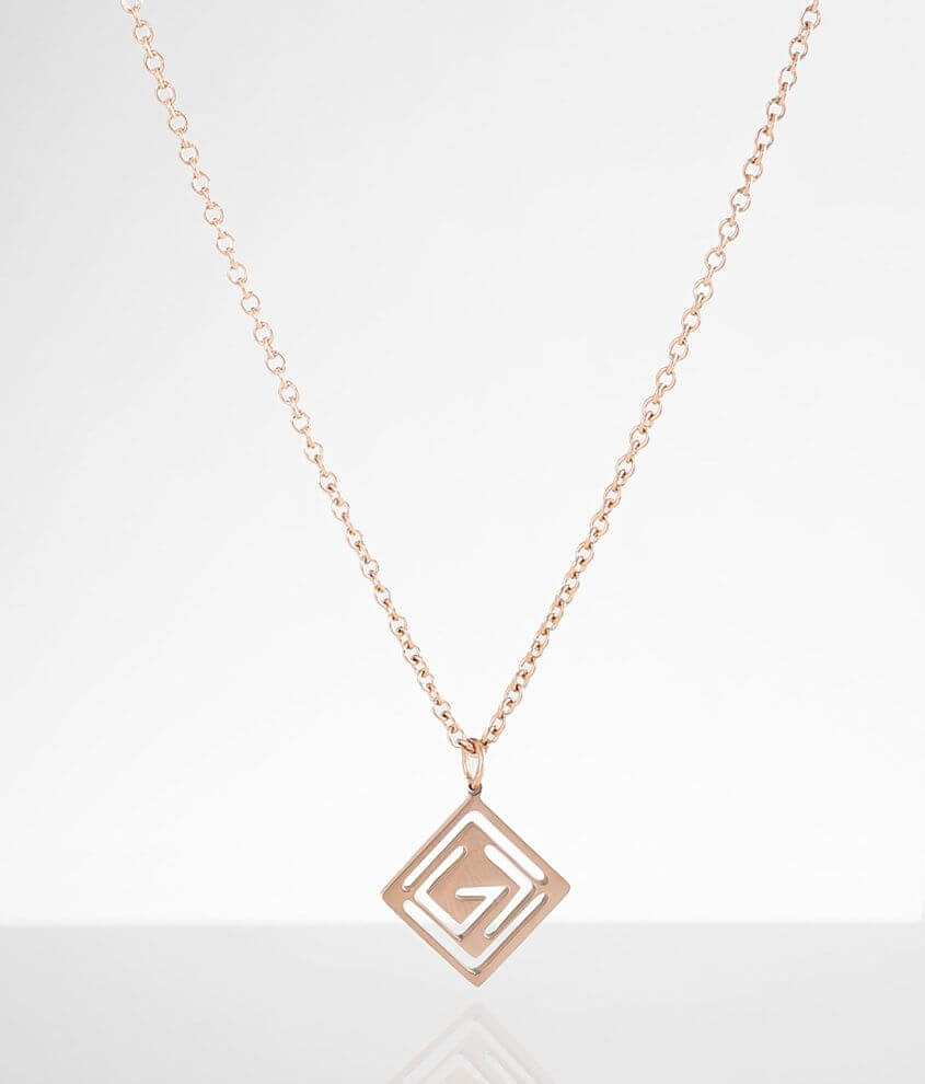 JAECI God Is Greater Necklace front view