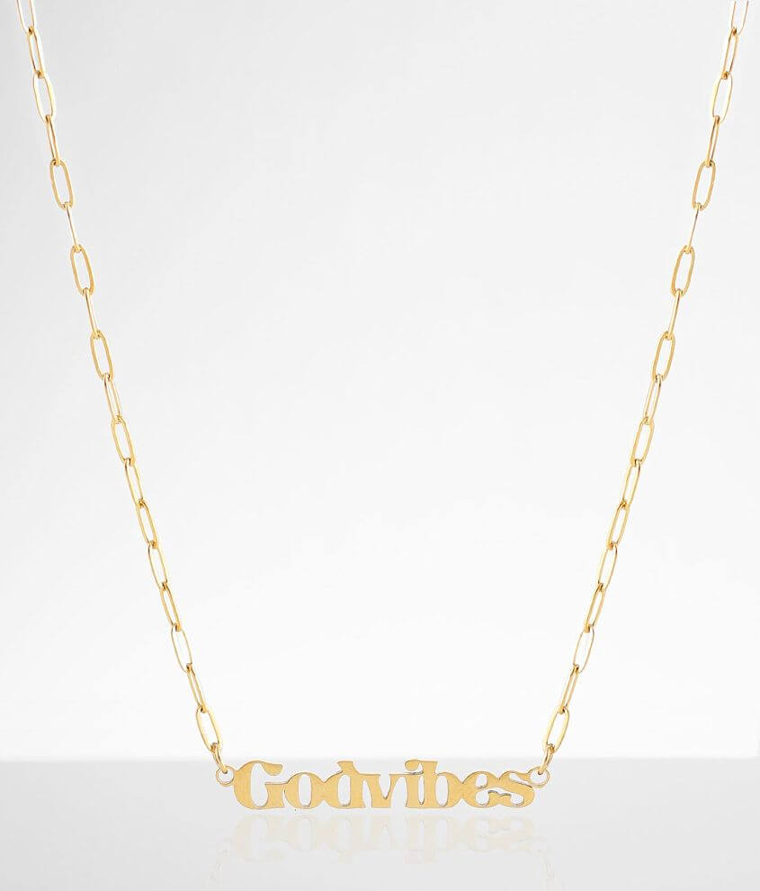 JAECI God Vibes Necklace front view
