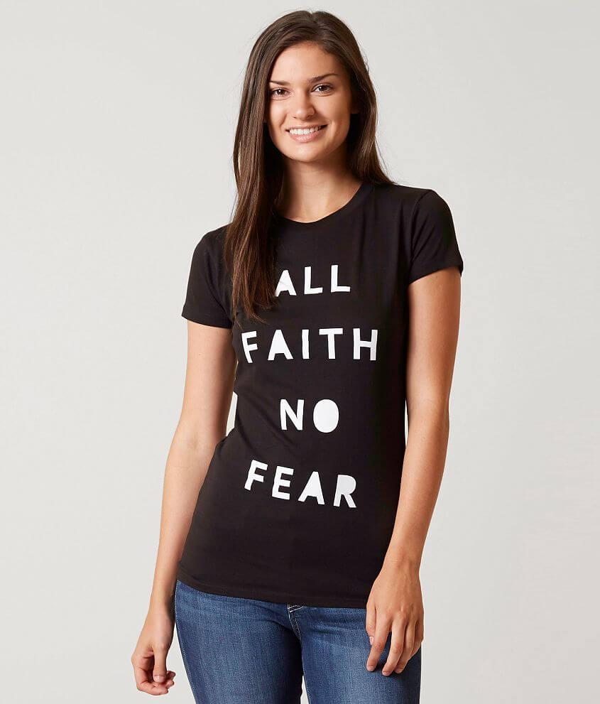 JAECI All Faith No Fear T-Shirt front view