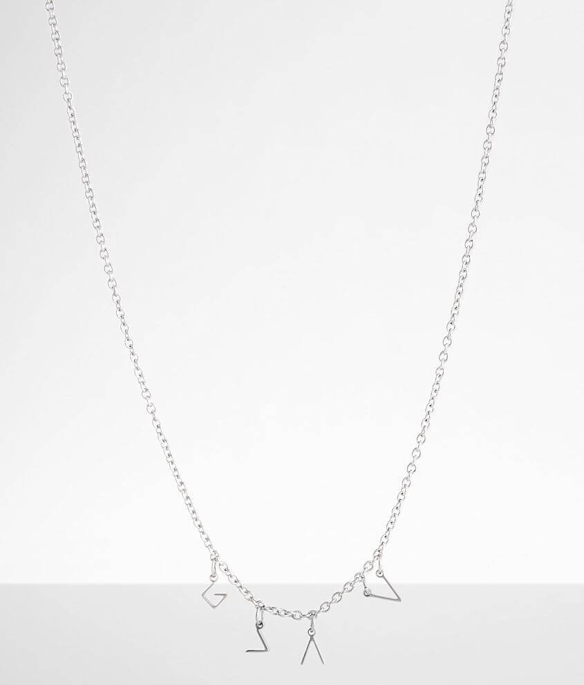 JAECI God Is Greater Charm Necklace front view