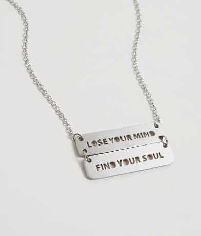 JAECI Lose Your Mind Find Your Soul Necklace