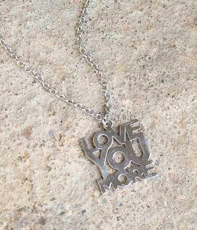 JAECI Love You More Necklace