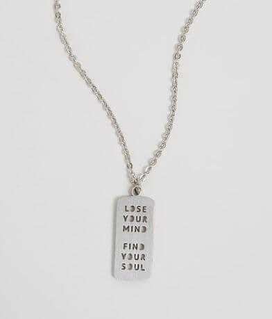 JAECI Lose Your Mind Find Your Soul Necklace