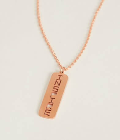 JAECI Positive Attributes Necklace
