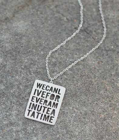 JAECI We Can Live Forever Necklace
