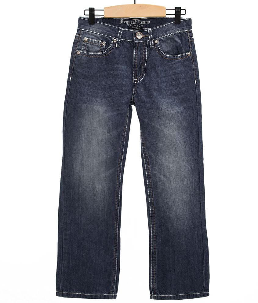 Boys - Request Jeans Garrison Straight Jean front view