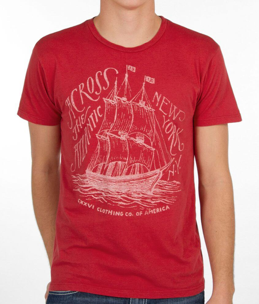 CXXVI Ship T-Shirt front view