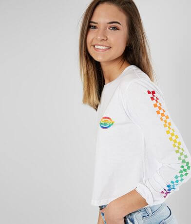 Dickies Rainbow Cropped T-Shirt