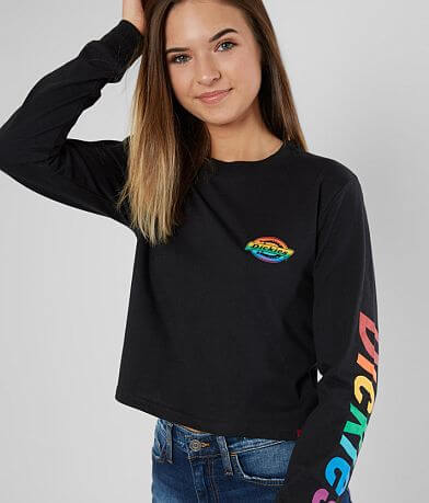 Dickies® Rainbow Cropped T-Shirt