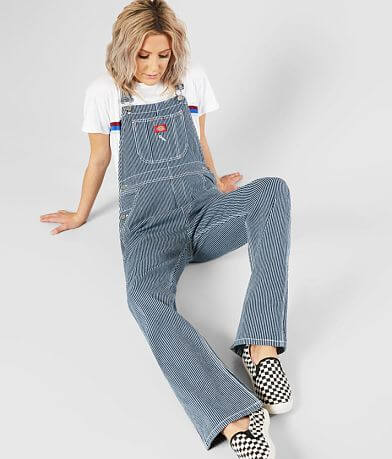 Dickies Hickory Striped Stretch Overalls