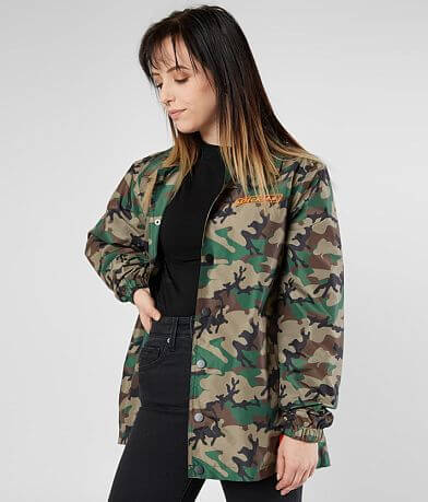 Dickies Oversized Camo Jacket