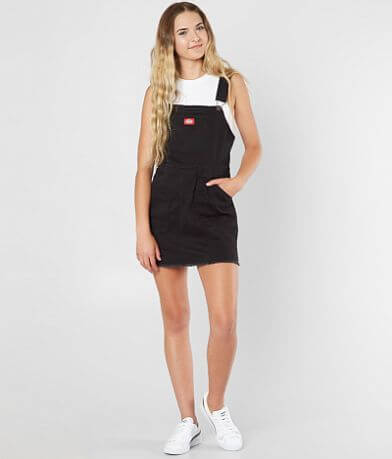 Dickies Frayed Overall Dress