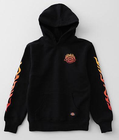 Boys - Dickies® Flame Hooded Sweatshirt