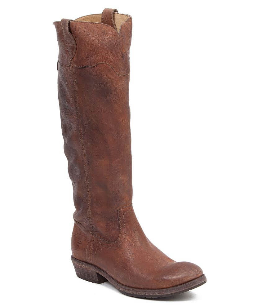 20cc34696d7 Frye Carson Lug Riding Boot - Women s Shoes in Cognac