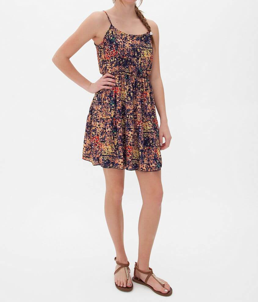 Daytrip All-Over Print Dress front view