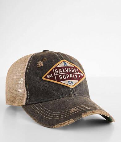 Salvage Diamond Trucker hat