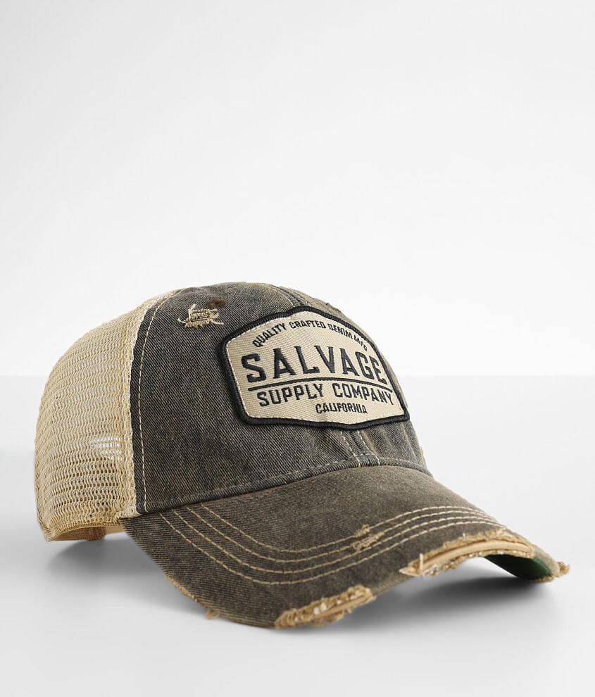 Salvage Service Trucker Hat front view