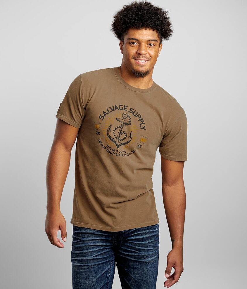 Salvage Anchors T-Shirt front view