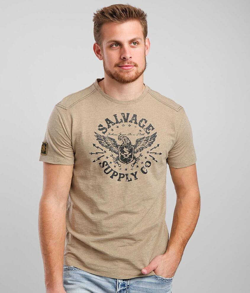 Salvage Eagle Shield T-Shirt front view