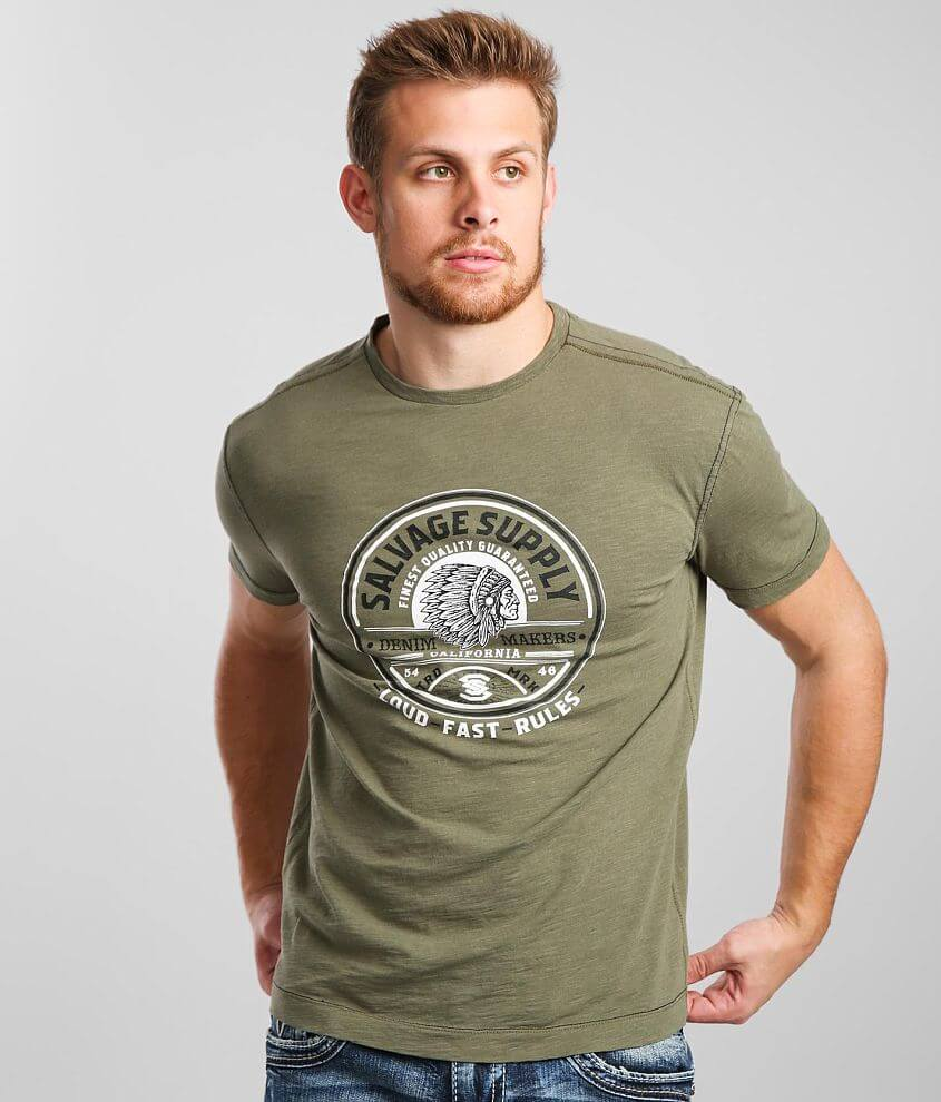 Salvage Supply T-Shirt front view