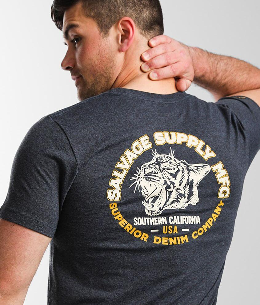 Salvage Tiger T-Shirt front view