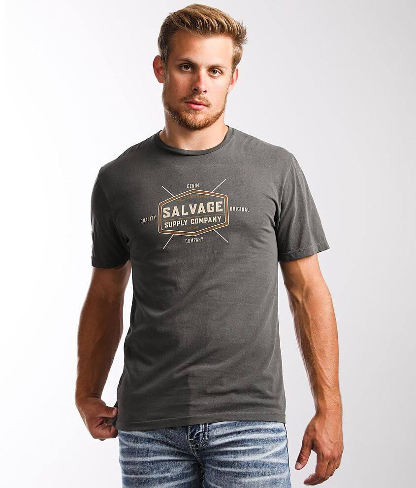 Salvage Basic T-Shirt front view