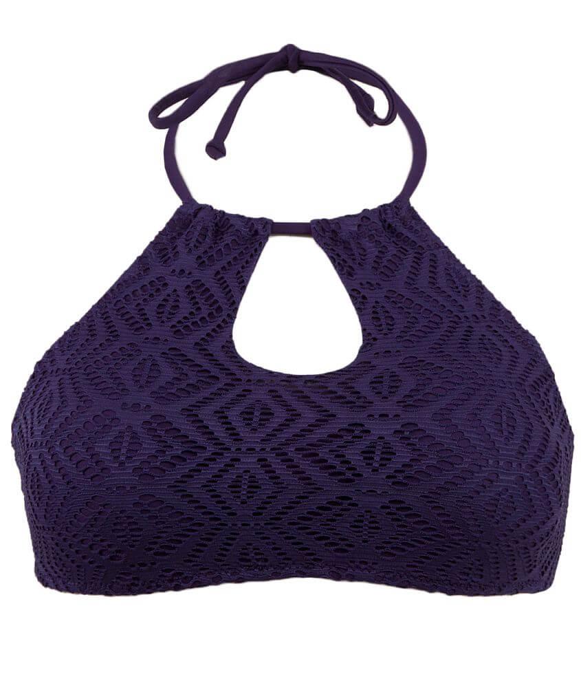 3e988a2d31 Roxy Sand Dollar Swimwear Top - Women s Swimwear in Astral Aura