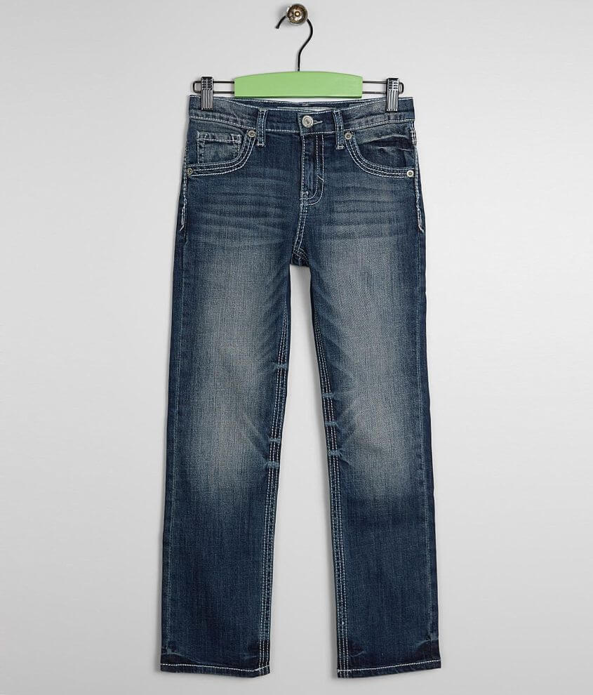 1223f828 Boys - BKE Conner Straight Stretch Jean - Boy's Jeans in Timor | Buckle