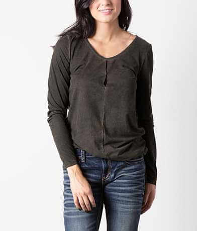 red by BKE Washed Top