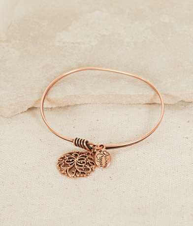 Quinn & Copper Filigree Charm Bracelet