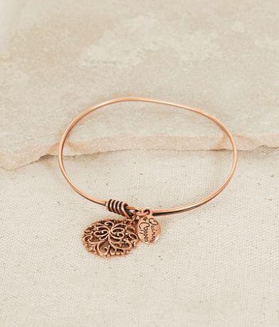 Quinn & Copper Filigree Charm Bracelet