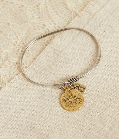 Quinn & Copper Celtic Cross Bracelet